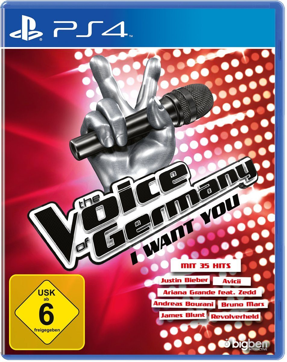 BIGBEN The Voice of Germany - I want you »(PS4)«