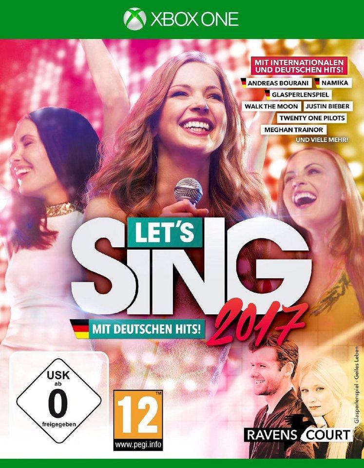 Koch Media Let's Sing 2017 inklusive Deutschen Hits »(XBox One)«