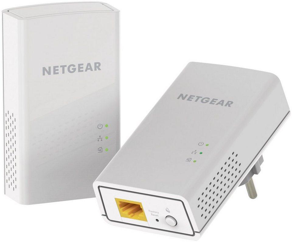Netgear Powerline Adapter »POWERLINE 1200 ADAPTER 2ER SET«