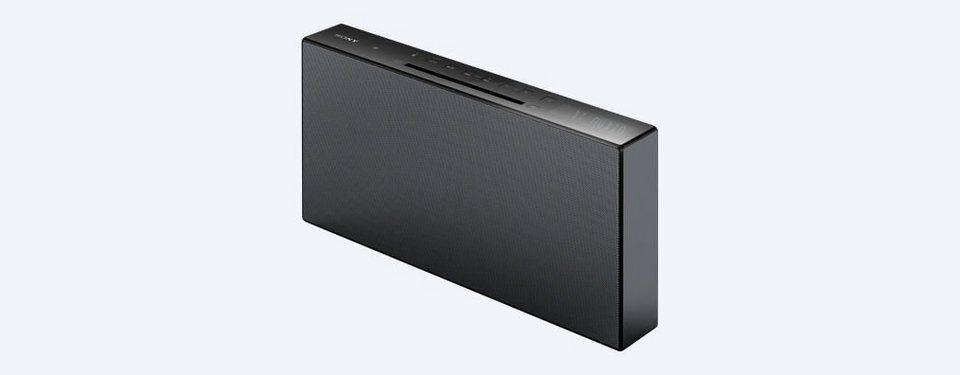 Sony Audiosystem »CMT-X3CD« in schwarz