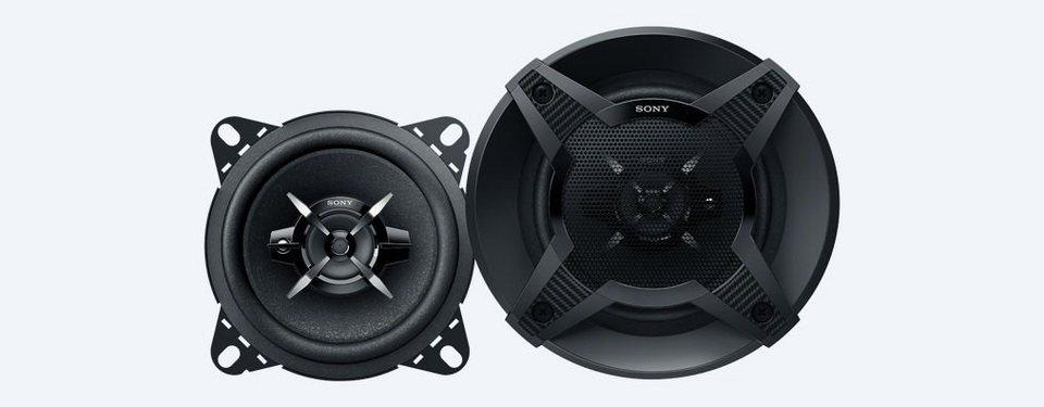 Sony (Paar) 3-Wege-Lautsprecher »XS-FB1030« in schwarz