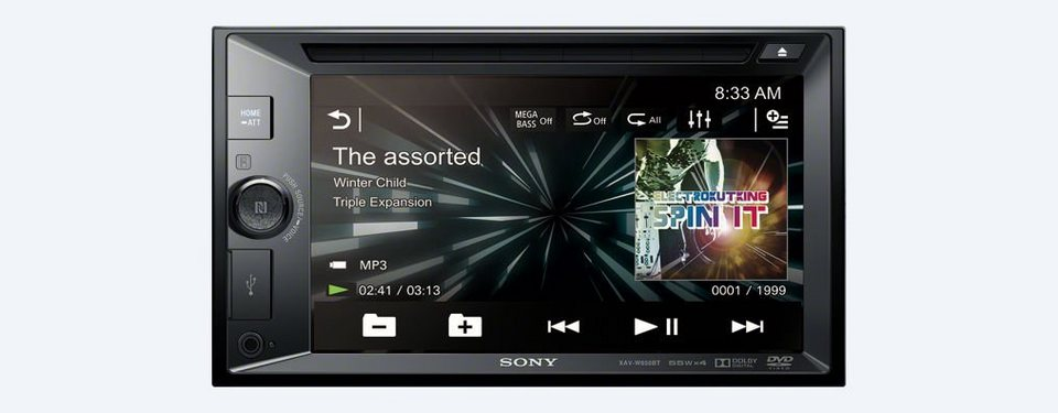 Sony 2-DIN-DVD-Receiver »XAV-W650BT« in schwarz