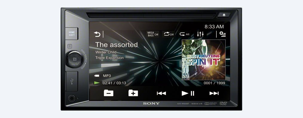 Sony 2-DIN-DVD-Receiver »XAV-W650BT«