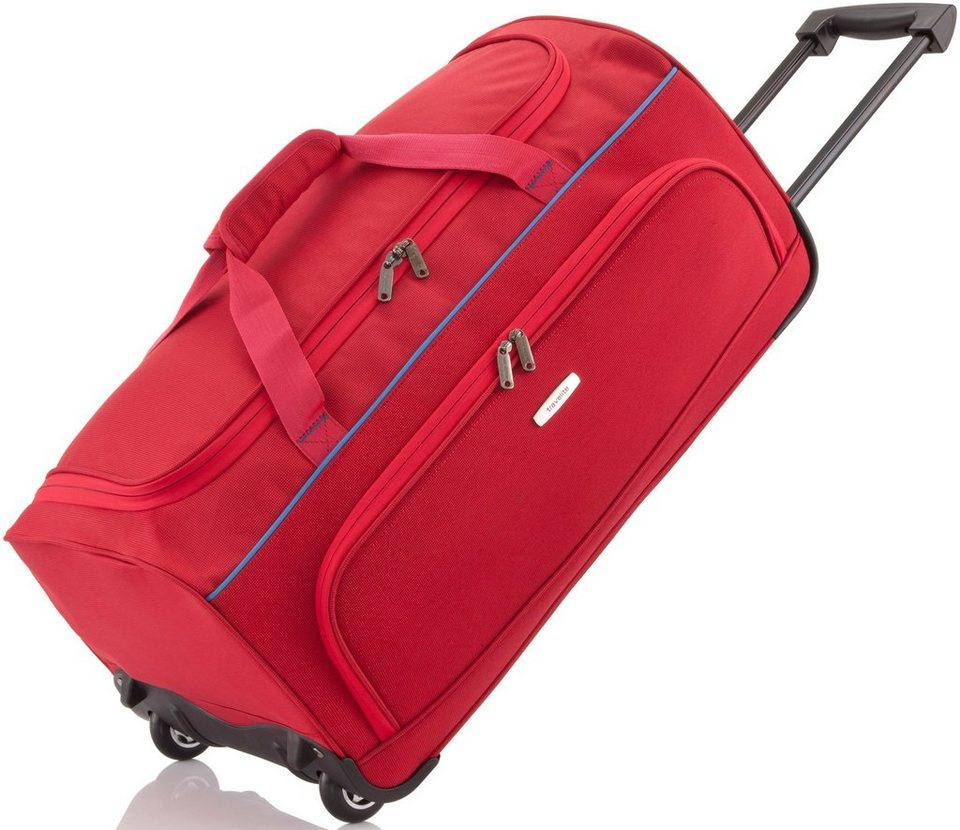 travelite Trolley Reisetasche mit 2 Rollen, »Derby« in rot