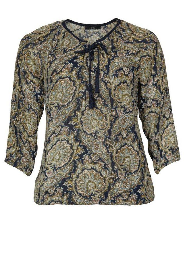 Ciso Shirtbluse in dunkelblau