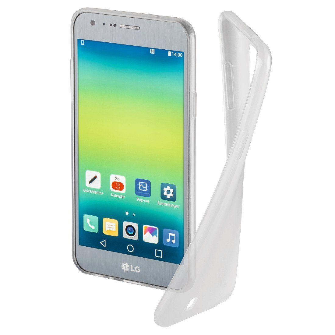 Hama Cover Crystal für LG X Cam, Transparent