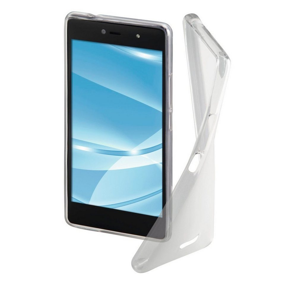 Hama Cover Crystal für Wiko U Feel, Transparent in Transparent