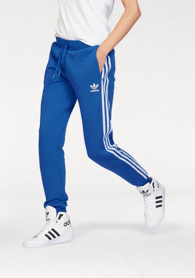 Blaue adidas hose