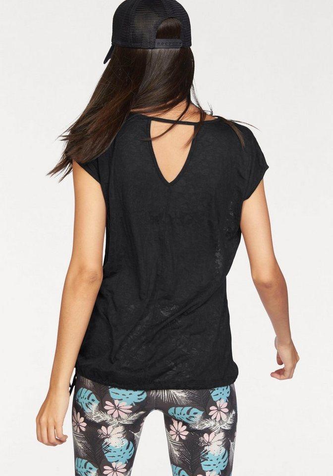 Ocean Sportswear T-Shirt in schwarz+mint