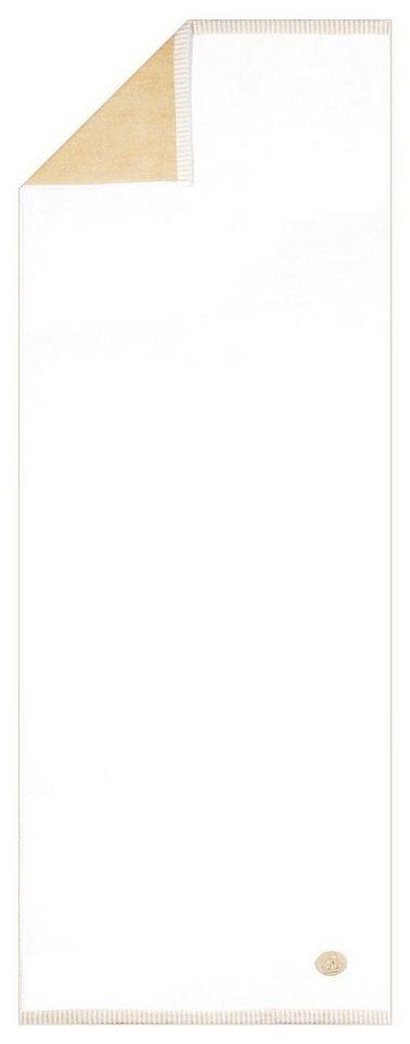 Saunatuch, Egeria, »Ben«, mit Wendeseite in weiß