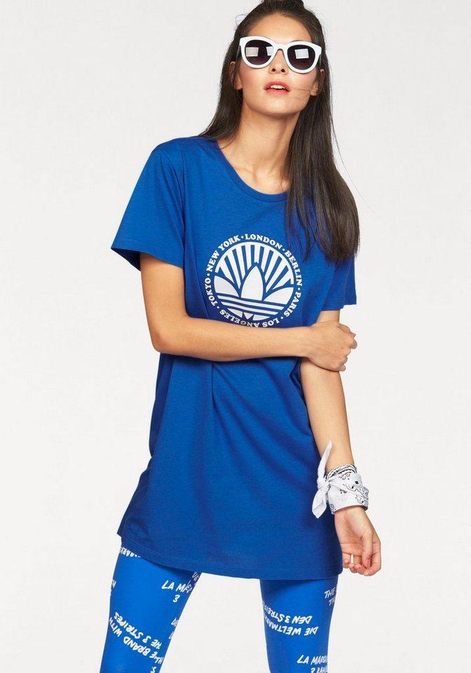 adidas Originals Shirtkleid »BF TEE DRESS« in blau