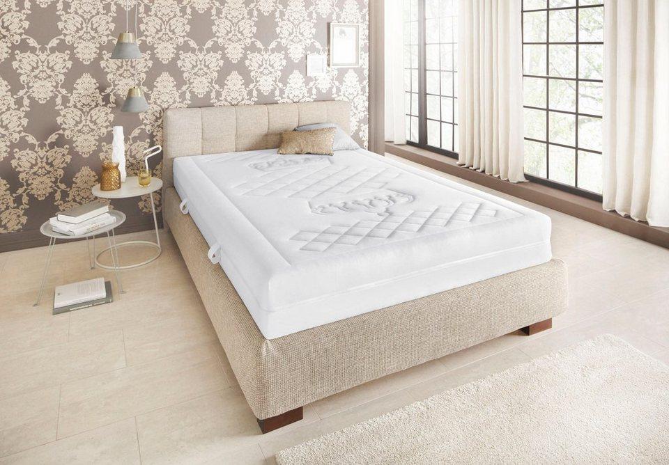 taschenfederkernmatratze kronensteppung malie 1 tlg oder 2 tlg 21 cm hoch 448 federn. Black Bedroom Furniture Sets. Home Design Ideas