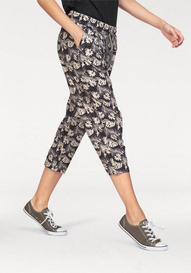 Ocean Sportswear 3/4-Hose in schwarz-creme