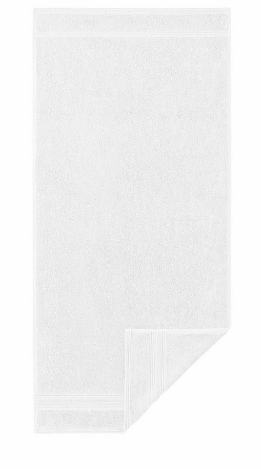 Handtücher, Egeria, »Manhattan Gold«, mit feiner Bordüre in weiß