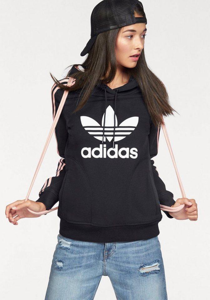 adidas originals kapuzensweatshirt slim hoodie otto. Black Bedroom Furniture Sets. Home Design Ideas