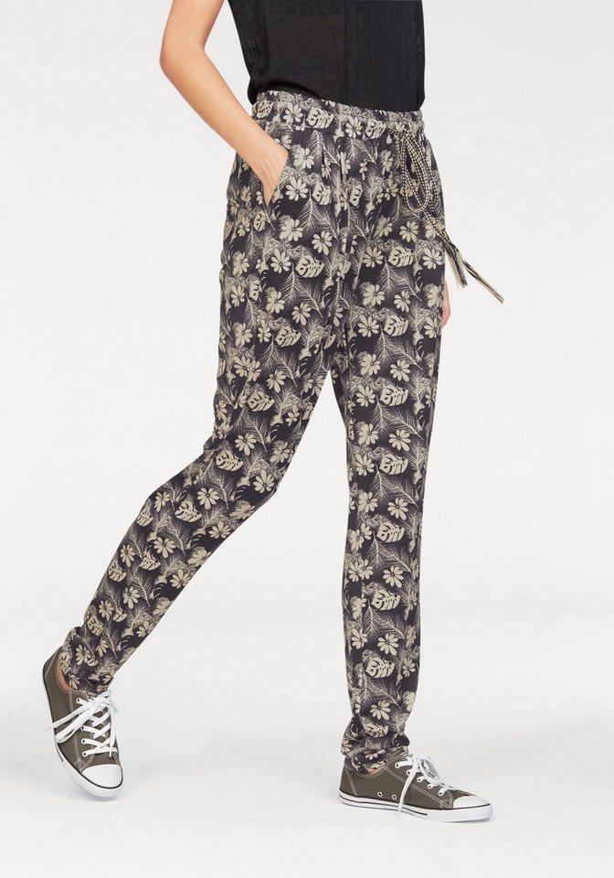 Ocean Sportswear Haremshose in schwarz-creme