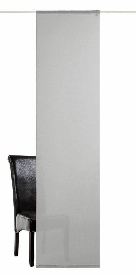 schiebegardinen halbtransparent online kaufen otto. Black Bedroom Furniture Sets. Home Design Ideas