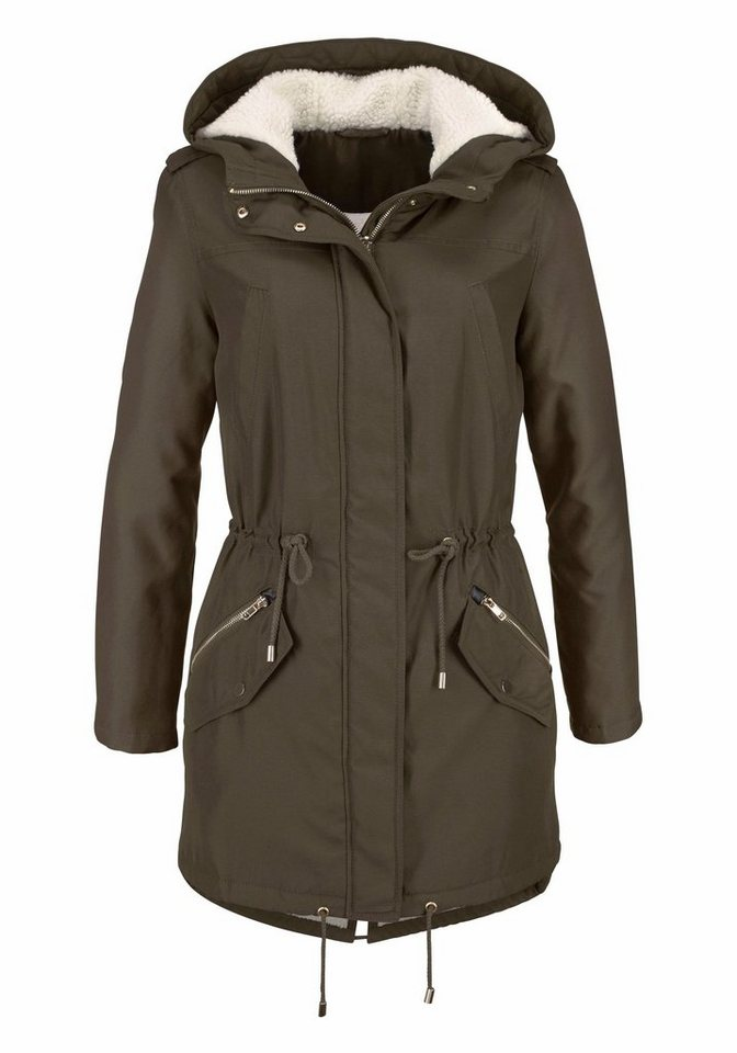 Aniston Parka mit Kapuze in khaki