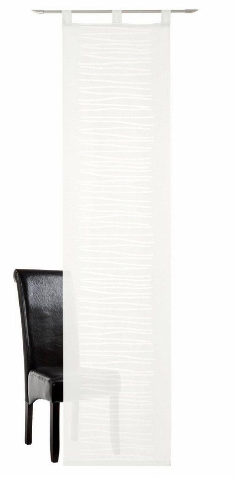schiebegardine novo deko trends schlaufen 1 st ck. Black Bedroom Furniture Sets. Home Design Ideas