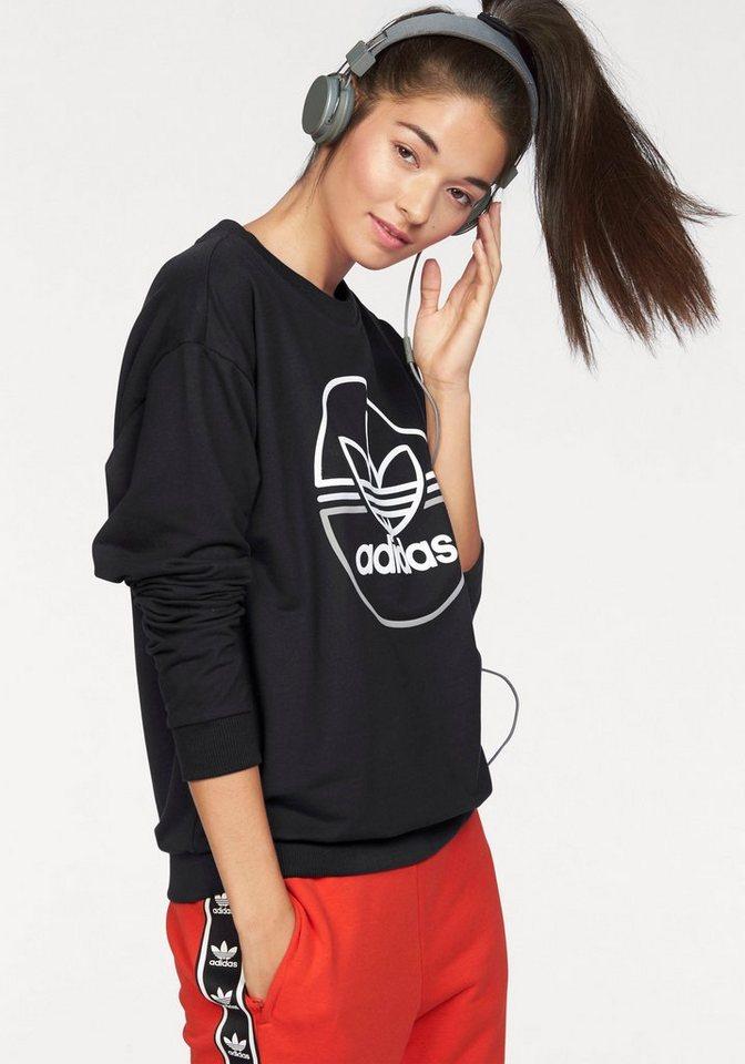 adidas Originals Sweatshirt »LIGHT SWEATSHIRT« in schwarz
