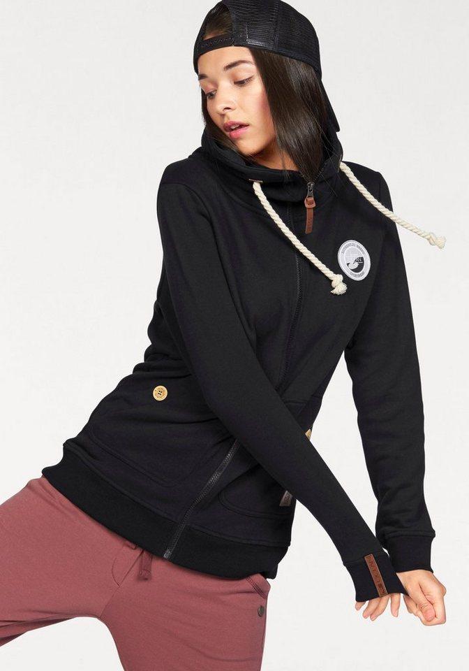 Ocean Sportswear Sweatjacke in schwarz