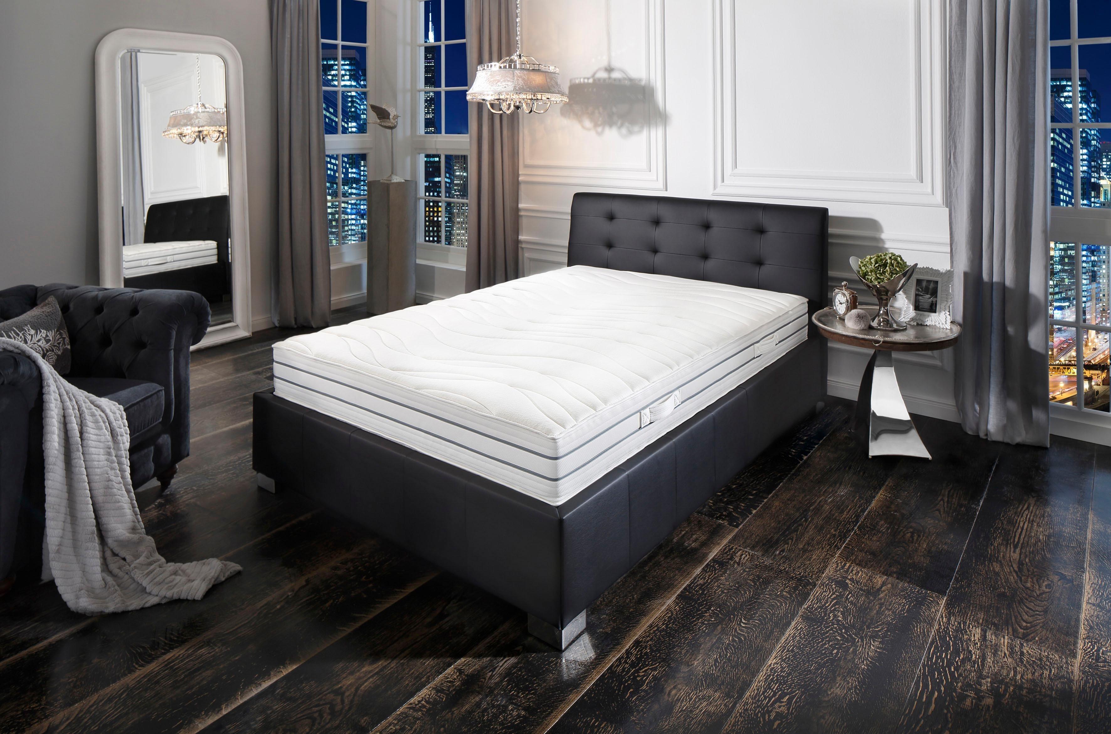 Komfortschaummatratze »Prestige De Luxe 23 S - Premium-Natur«, Schlaf-Gut, 23 cm hoch, Raumgewicht: 30, (1-tlg), abnehmbarer Bezug | Schlafzimmer > Matratzen > Kaltschaum-matratzen | Schlaf-Gut