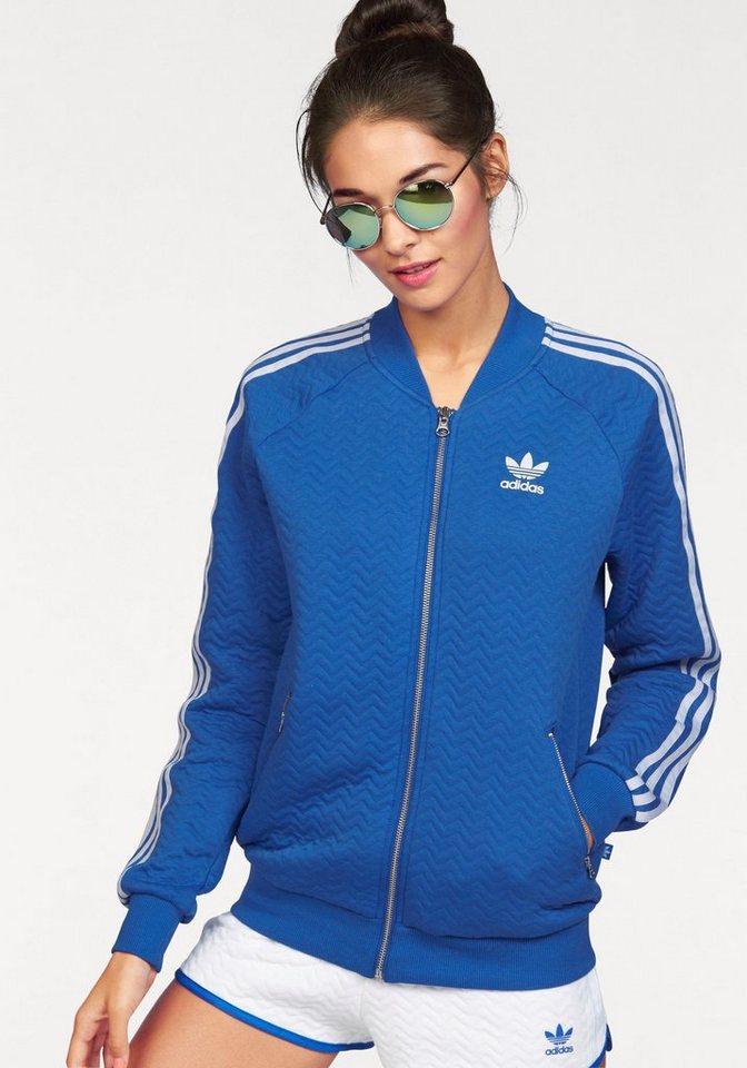 adidas Originals Trainingsjacke in blau
