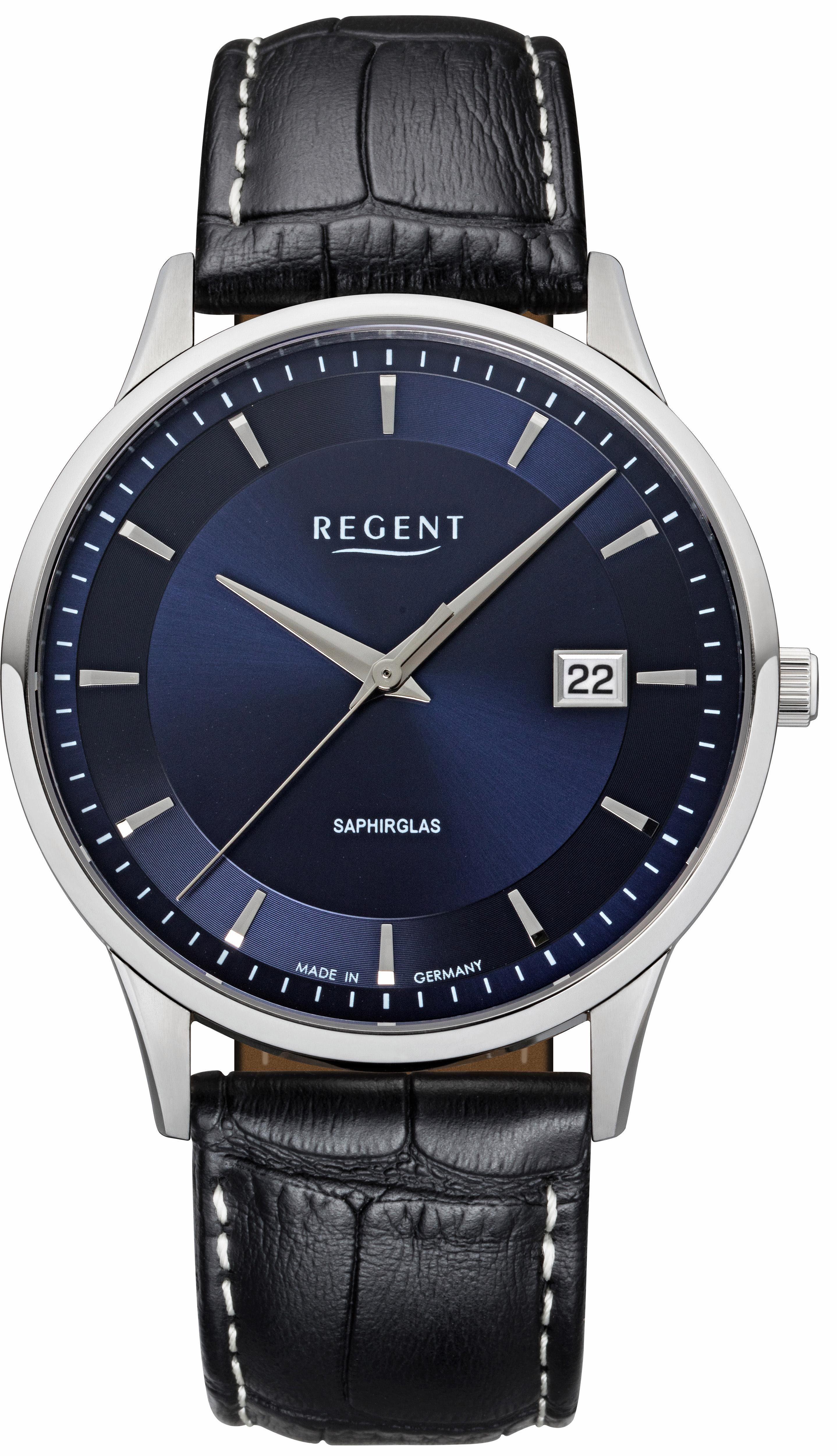 Regent Quarzuhr »11110753« Made in Germany