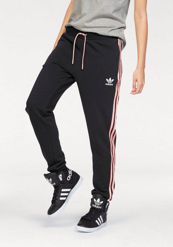 adidas Originals Trainingshose in schwarz