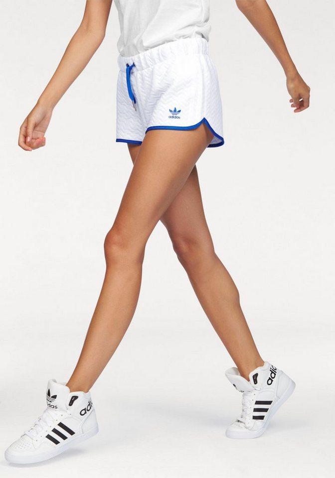 adidas Originals Shorts »SLIM SHORT« in weiß