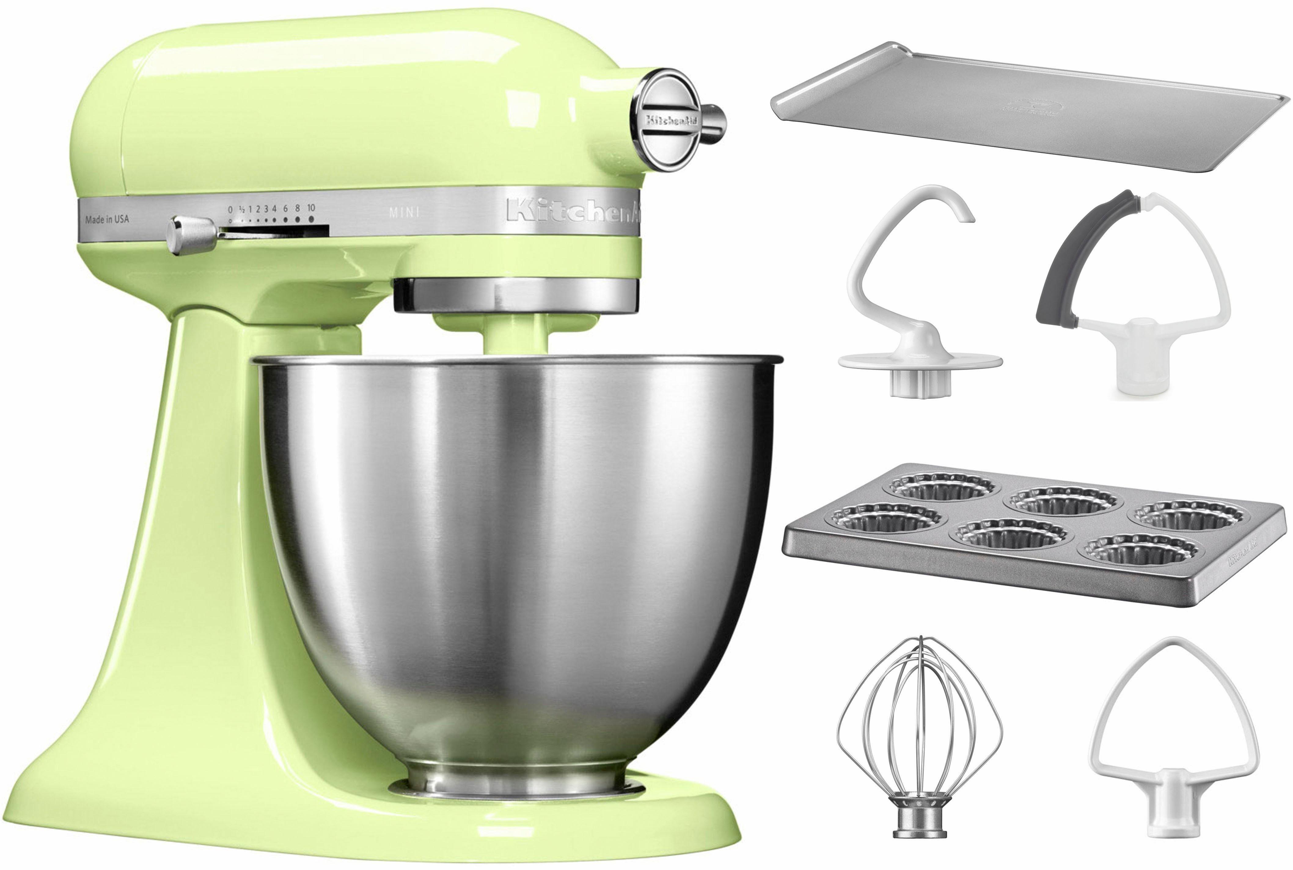 KitchenAid® Küchenmaschine Mini 5KSM3311XEHW, mit Sonderzubehör im Wert von 106,-€ UVP
