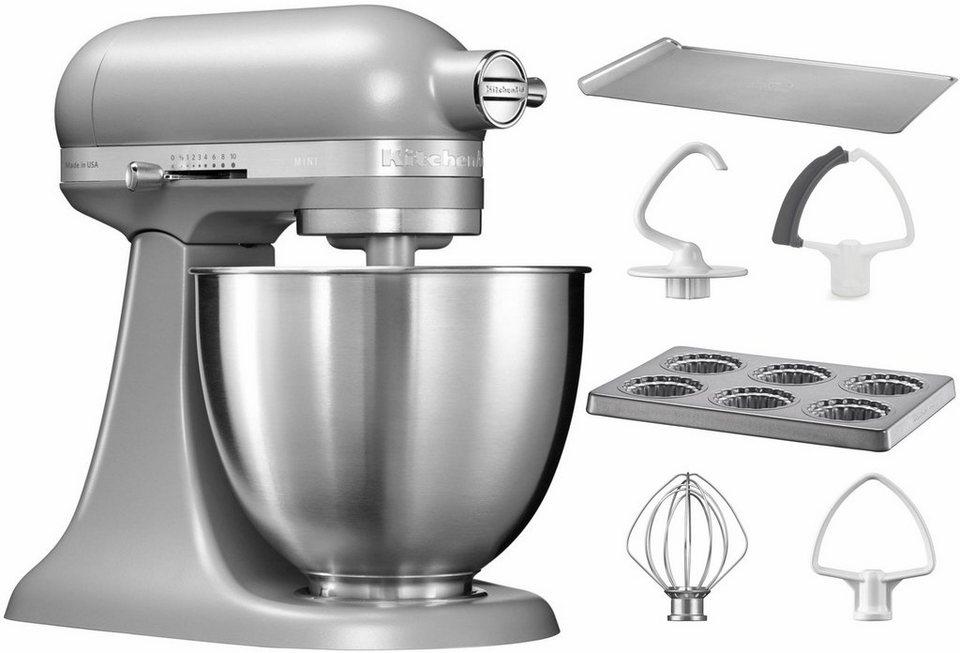 KitchenAid® Küchenmaschine Mini 5KSM3311XEFG, mit Sonderzubehör im Wert von 106,-€ UVP in matt grau
