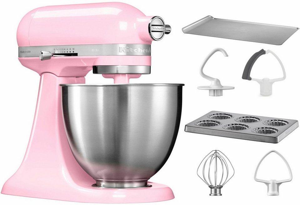 KitchenAid® Küchenmaschine Mini 5KSM3311XEGU, mit Sonderzubehör im Wert von 106,-€ UVP in pink