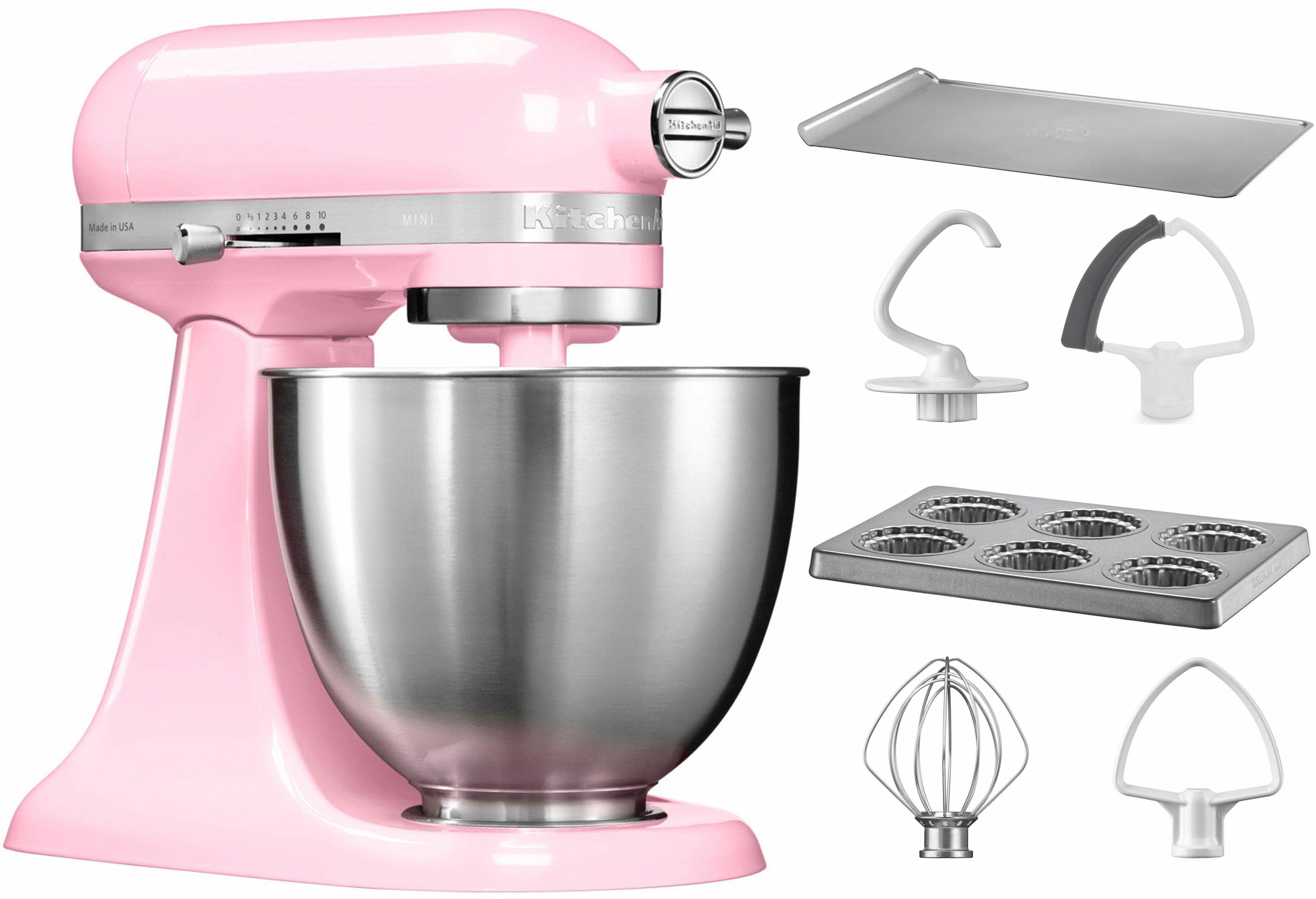 KitchenAid® Küchenmaschine Mini 5KSM3311XEGU, mit Sonderzubehör im Wert von 106,-€ UVP