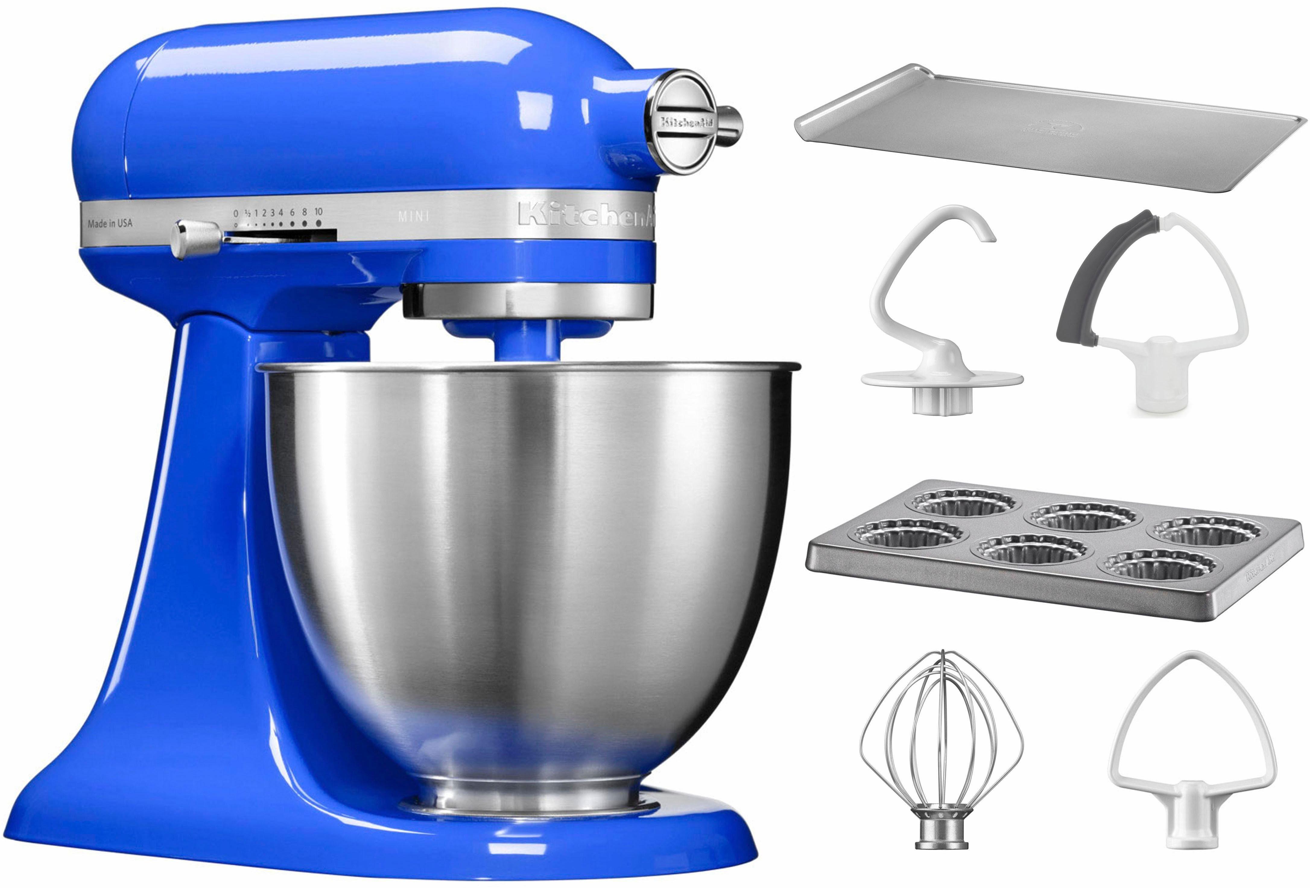 KitchenAid® Küchenmaschine Mini 5KSM3311XETB, mit Sonderzubehör im Wert von 106,-€ UVP