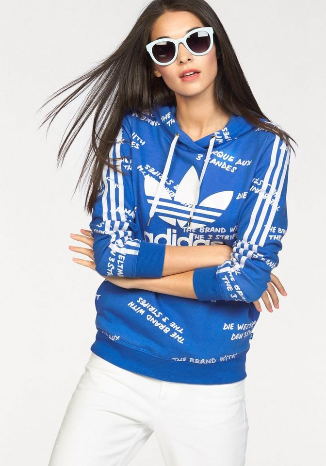 adidas Originals Kapuzensweatshirt »SLIM HOODIE« in blau