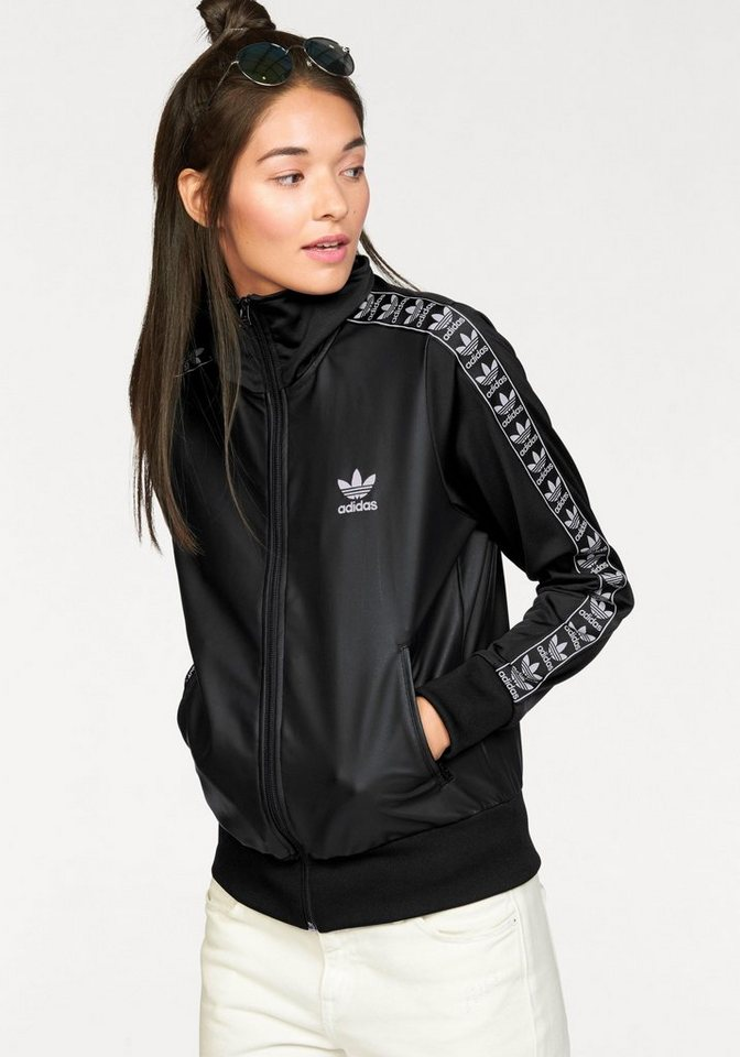 adidas Originals Trainingsjacke »FIREBIRD TT« in schwarz