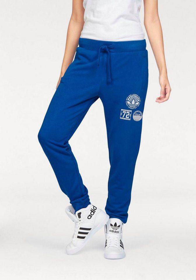 adidas Originals Trainingshose »REGULAR CUFF TP« in blau