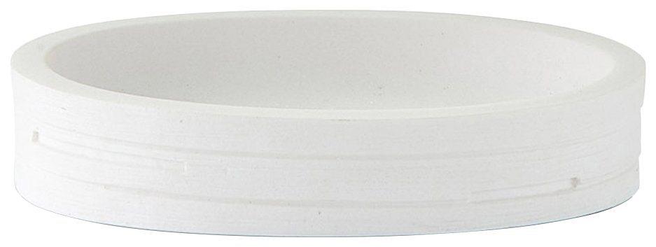 Seifenschale »Schiefer« in weiß