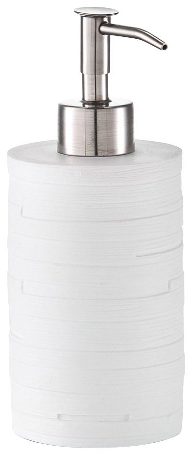 Seifenspender »Schiefer« in weiß