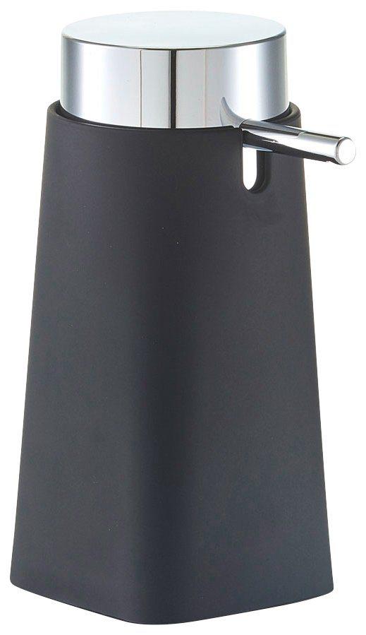 Seifenspender »Rubber« in schwarz