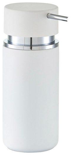 ZELLER Seifenspender »Rubber«, mit Soft Touch Oberfläche, 300 ml