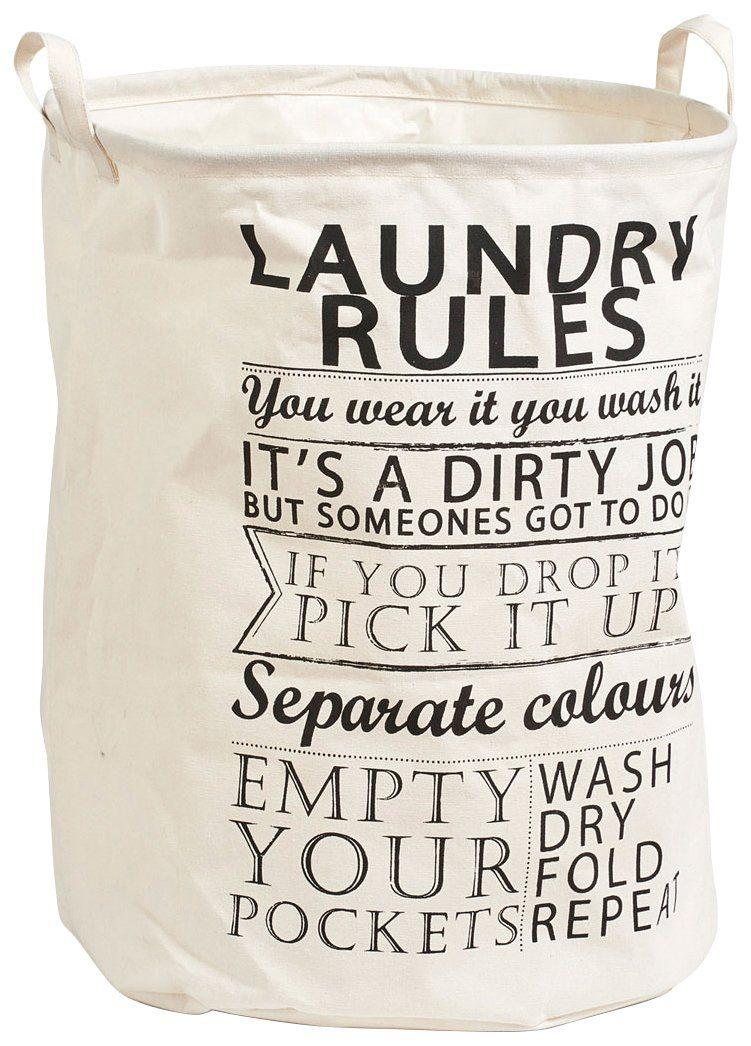 Wäschesammler »Laundry Rules«