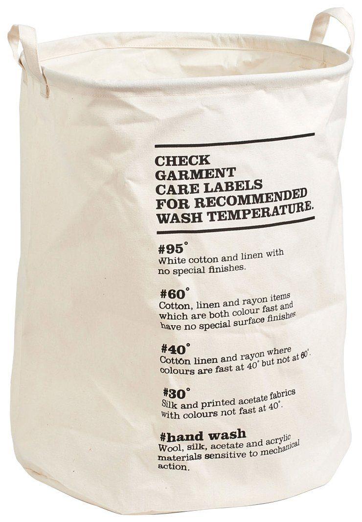 Wäschesammler »Care Labels«