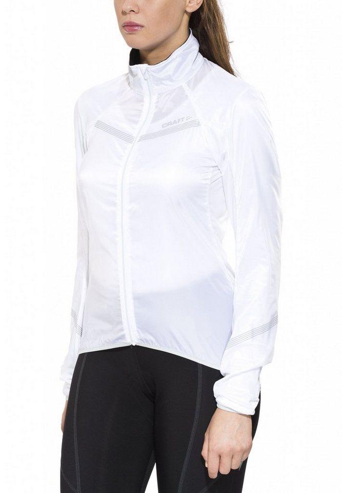 Craft Radjacke »Featherlight Jacket Women« in weiß