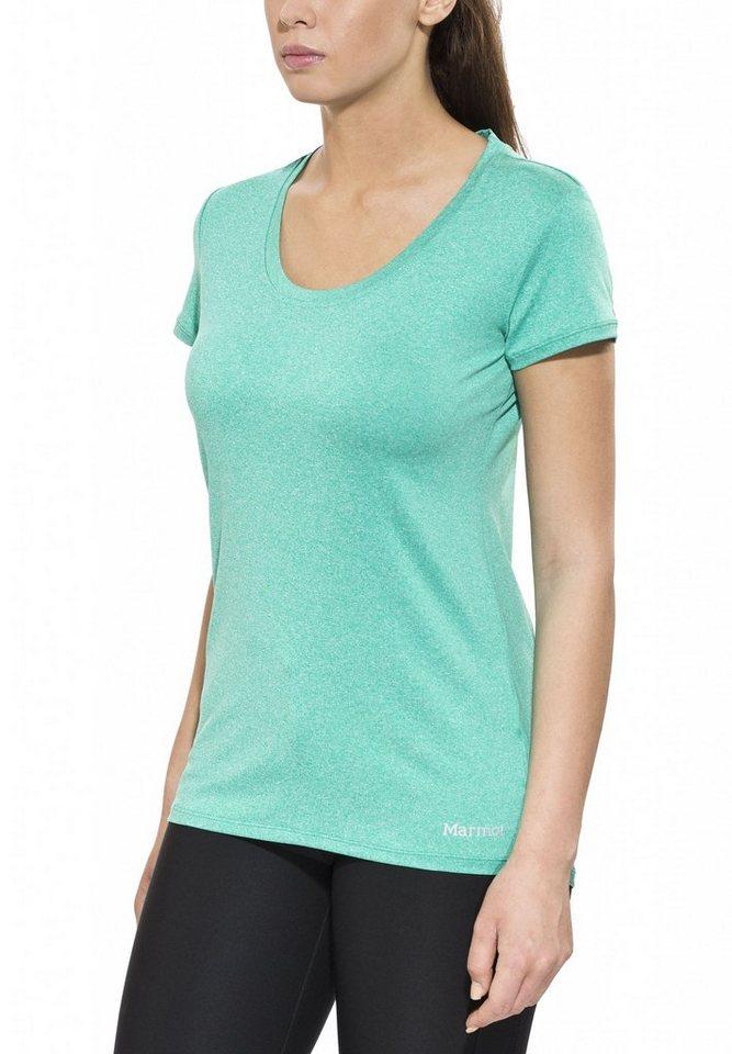 Marmot T-Shirt »All Around Tee SS Women« in grün