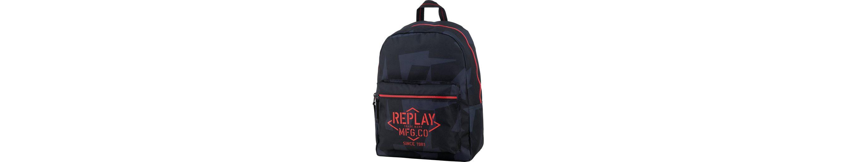 Rucksack, »Replay, Boys Backpack dunkelblau, groß, Vol. 20 Liter««