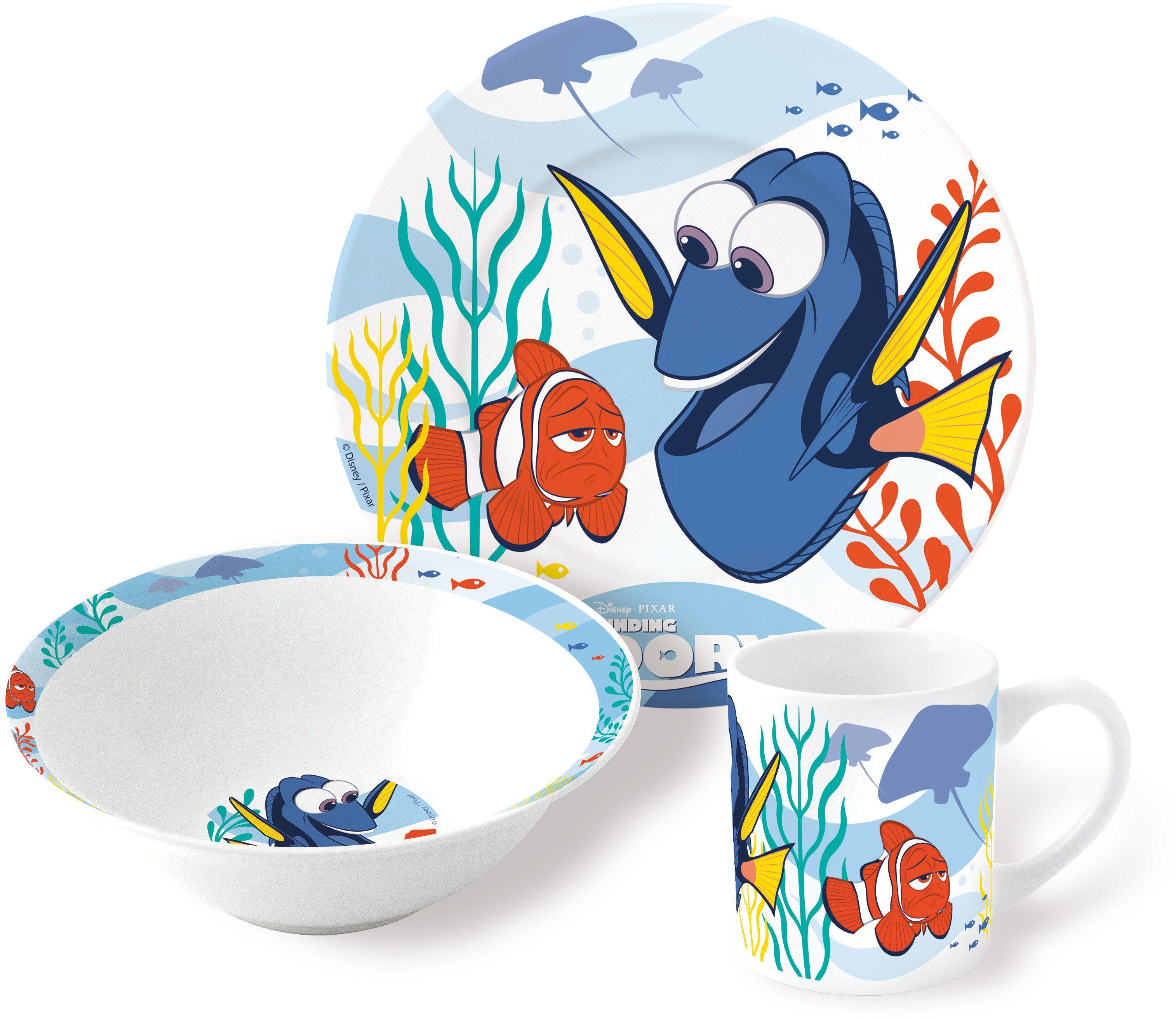 p:os Kindergeschirrset, »Disney Pixar Finding Dory Keramikset«