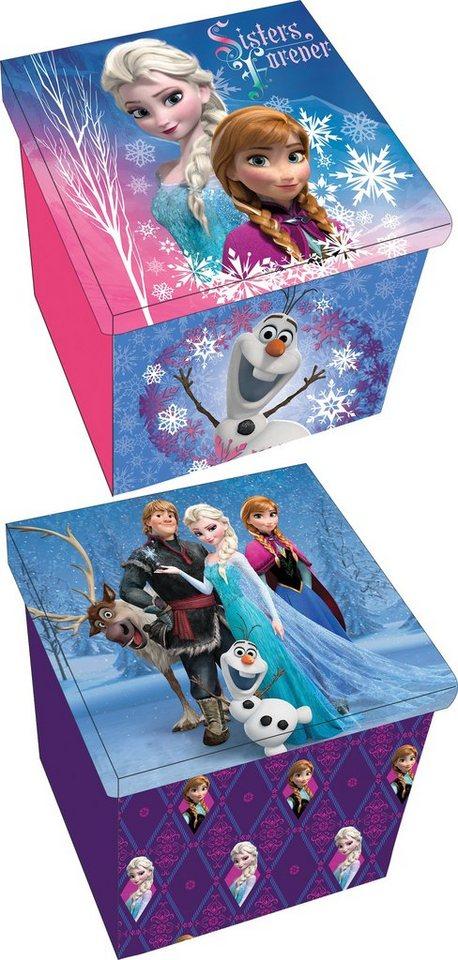 p:os Ordnungsboxen, »Disney Frozen Aufbewahrungshocker«
