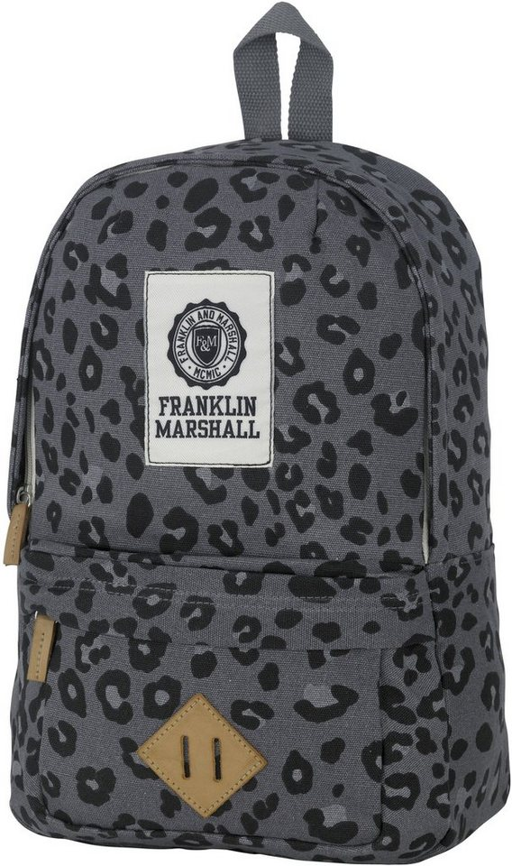 Franklin & Marshall, Rucksack, »Girls Backpack, leopard« in leopard